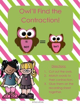 Owl'll Find the Contraction L2.2c