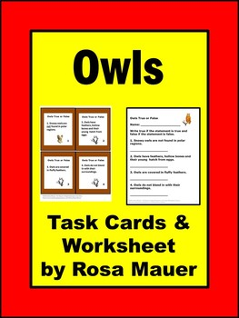 Owls Nature's Children