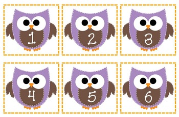 Owls 1-24 for Mailboxes or Other