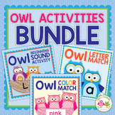 Owls: Owl Activities for Preschool Early Childhood