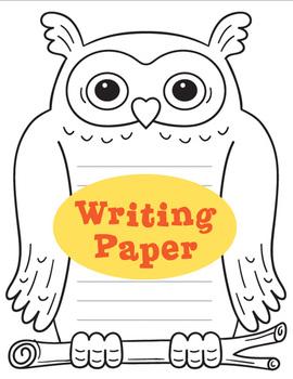 Owl Graphic Organizers