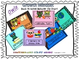 Owls- Back to School Growth Mindset Behavior Clip Chart