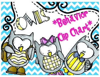 Owls Behavior Clip Chart