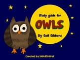 Owls By Gail Gibbons Study Guide