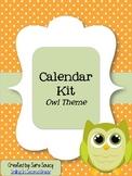 Owls Calendar Kit