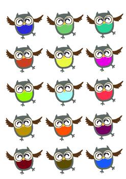 Owls Clipart 2