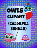 Owls Clipart - Everyday & Holidays (Colorful Bundle Pack)