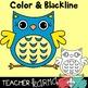 Owls Clipart Set #1 (Check out the BUNDLE below)