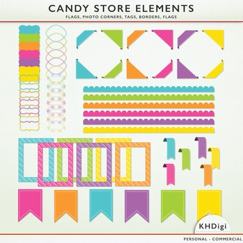 Owls Clipart - from the Candy Store Collection