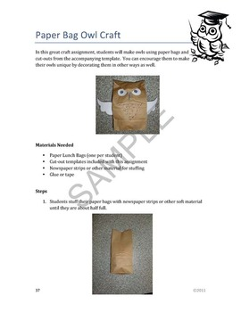 """""""Owls"""" Common Core Aligned Math and Literacy Unit - ACTIVboard EDITION"""