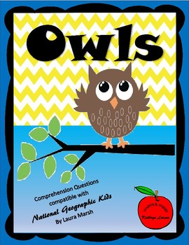 Owls / Compatible with National Geographic Kids