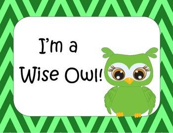 Owls Conduct Chart