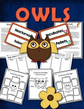 OWLS: NONFICTION AND SCIENCE Includes Fact or Myth PowerPoint Grades 2-4