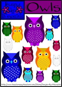 Owls {Designs by Nawailohi}