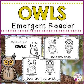 Owls Emergent Reader