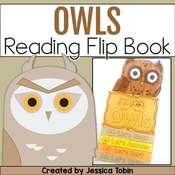 Owls Flip Book