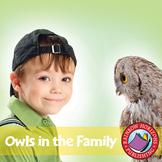 Owls In The Family (Novel Study) Gr. 4-7