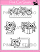 Owls Clip Art - Owls Love School Theme - Personal & Commercial Use