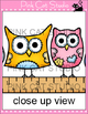 Owls Clip Art - Owls Love School Theme - Personal & Commer