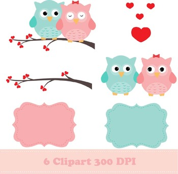 Owls Lovers Digital Paper