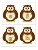 Owls:  Matching Capital and Lowercase Letters A to Z