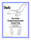 Owls - Mini Unit