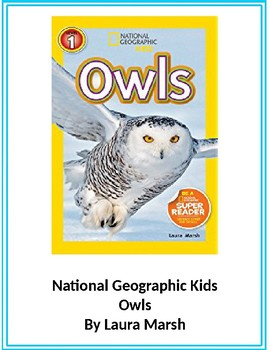 Owls (National Geographic Kids)