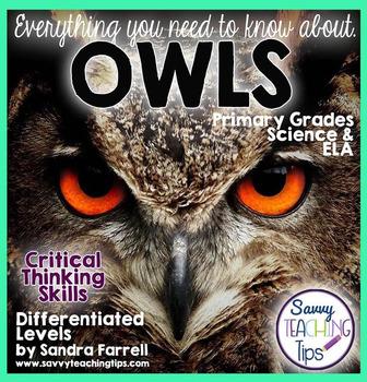 Owls - a Non-Fiction Science Unit