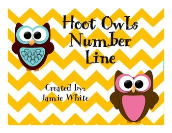 Owls Number Line 1-20