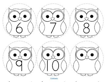 Owls Number Necklaces FREE