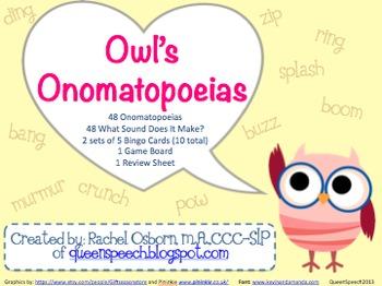 Owl's Onomatopoeias