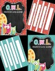 Editable Owl Themed Binder Covers and Spines