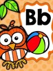 Owls & Polka Dots Alphabet Posters Full and Mini