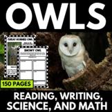 Owls Unit   Owl Activities   Pellet Dissection   Owl Reading Passages