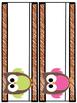 Owls Theme - Room Decor