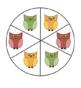 Owls Themed Game board: Editable!