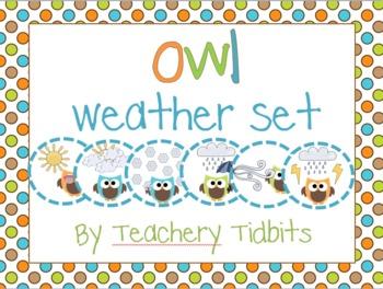 Owls Weather Set