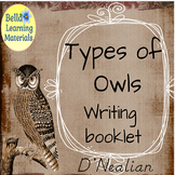 Owls Write and Learn - D'Nealian Distance Learning