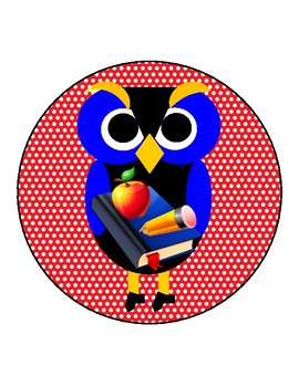 Owls and Back to School for Autism