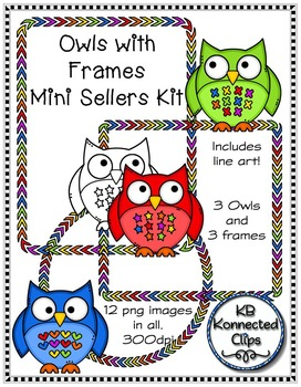 Owls and Frames Mini Kit