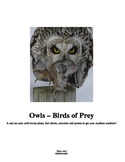 Owls and Mice: Predator Prey Unit for Outdoor Learning