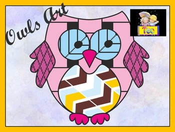 Owl Theme - Coloring Activities - Clipart - Back to School Activity