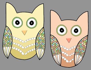 Owls (clip art)