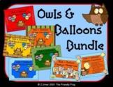 Owls 'n' Balloons Classroom Decor Bundle