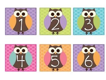Owls on Dots Calendar Pack