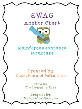 Owls theme SWAG poster _Sentence structure