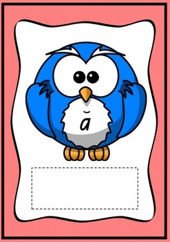 Owls with Vowels and Extra Words- Posters for Long and Short Vowel Sounds