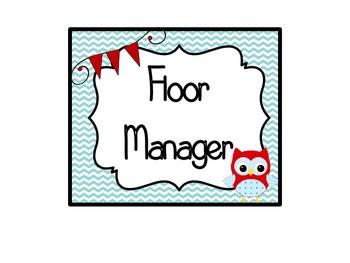 """""""Owl""""standing Helpers"""