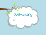 Owlstanding High Frequency Word BINGO