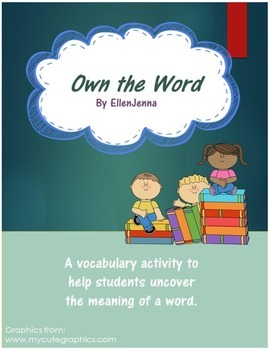 Own the Word - Vocabulary